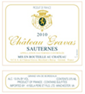 Chateau-Gravas wine